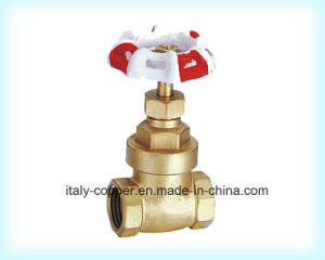 Forged Brass Gate Valve with Iron Handle pictures & photos