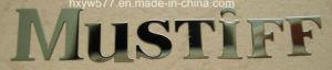 3D Logo Metallic Sticker Label Electroform, Nameplate pictures & photos