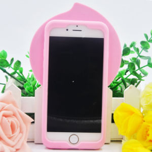 3D Cartoon Soft Silicone Case for iPhone 6 6splus 7 7plus Cell Phone Accessories (XSR-046) pictures & photos