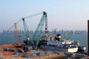 Slewing Strut-Boom Crane 100t Building Construction Equipment pictures & photos