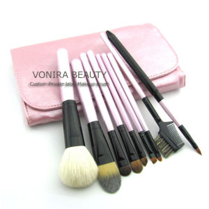 OEM/Mini 9 Piece Makeup Brush Set 4 Colors (YFM265)