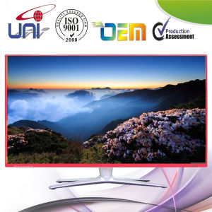 Fashion Red Metal Ultra-Slim Bezel E-LED TV pictures & photos