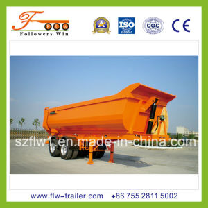 2axle 20cbm U-Type Tipper Semitrailer