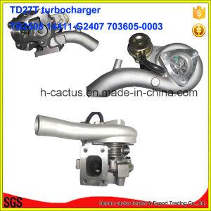 Billet Wheel Tb2580 Supercharger 14411-G2407 703605-0003 Turbocharger for Nissan Td27t