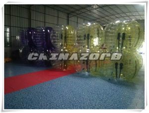 Custom Made Quality PVC/TPU Inflatable Bubble Football pictures & photos