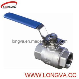 Stainless Steel 1.4408 2-PC Ball Valve pictures & photos