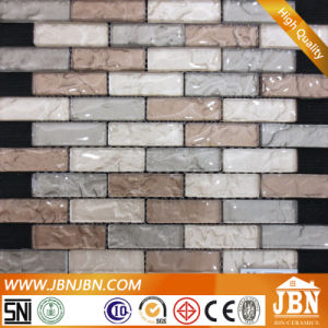 Kitchen Counter Wall Unflat Strip Glass Mosaic (G827002) pictures & photos