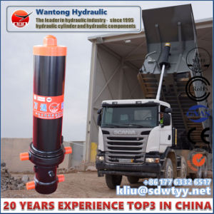 Front End Mount Hydraulic Cylinder for Dump Truck pictures & photos