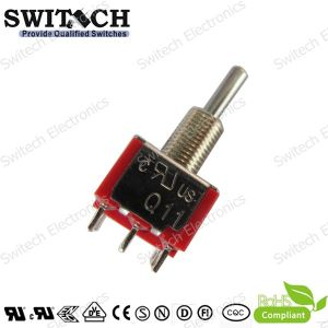 SGS UL-Approval Micro Push Button Switch with Short Solder Terminal