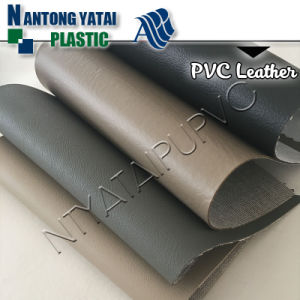 PVC Synthetic Leather with Good Friction Fastness for Auto Seat