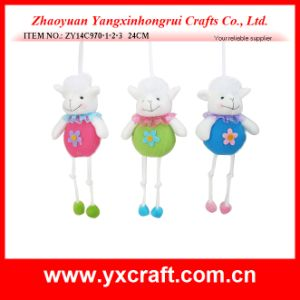Easter Decoration (ZY14C970-1-2-3 24CM) Easter Animal Craft Decoration Easter Rabbit pictures & photos