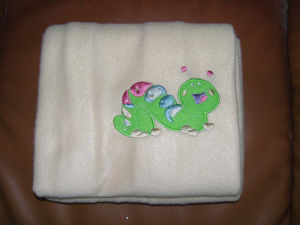 2015 Newest Embroidery Baby Blanket pictures & photos