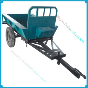 Farm Equipment Hand Tractor Mounted Farm Trailer pictures & photos