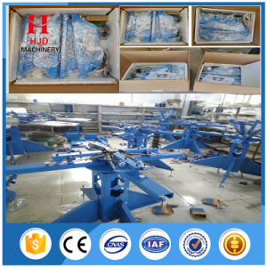 China Exporter Multicolor 8 Color Manual Screen Printing Machine pictures & photos