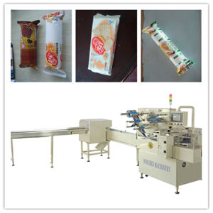 Waffles Trayless Packaging Machine with Feeder pictures & photos