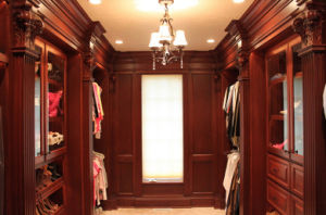 European Luxrious Wood Closet Cabinet with Drawers pictures & photos