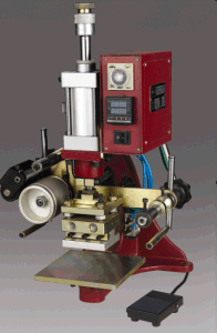 Pneumatic Gold Stamping Machine for Shoe pictures & photos