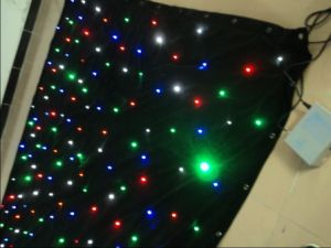 3*4m RGBW Mixed Colors DMX Fairy Lights Curtain LED Star Curtain pictures & photos