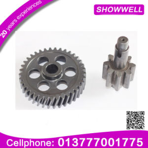 High Tolerance Manufacture Gears 45 Degree Precision Helical Gear Shaft Planetary/Transmission/Starter Gear pictures & photos