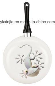 Aluminum Ceramic Non-Stick Laser Printing Fry Pan Cookware (01) pictures & photos