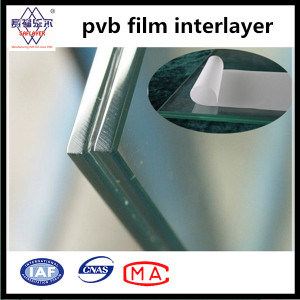 Clear and Color Band Striped 0.76mm Thickness PVB Interlayer for Auto Glass pictures & photos