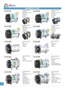 505 6pk 12V Car Air Conditioning Compressor pictures & photos