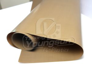 PTFE Impregnate Glassfiber High Temperature Fabric pictures & photos