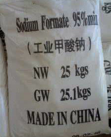 Factory Price Used in Textile and Leather Sodium Formate 95% pictures & photos