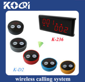Wireless Call System for Waiter Bartender Nurse pictures & photos