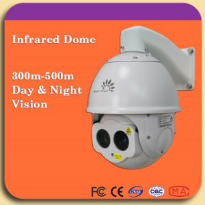 Middle Range Night Vision High Speed Dome Camera pictures & photos