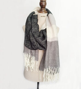 Woven Fabrics Chenille Scarf for Lady pictures & photos