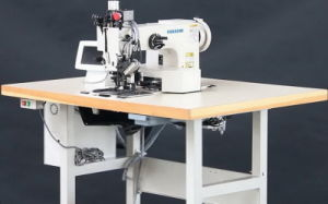 Extra Heavy Duty Programmable Pattern Sewing Machine with Large Shuttle Hook pictures & photos