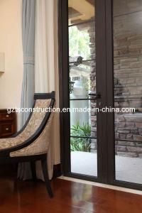 Australia Standard Doors Interior Door with As2208 Double Glazing Glass pictures & photos