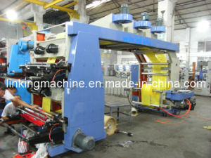 4 Color Non Woven Fabric Flexo Printing Machinery (WS884-1400WF) pictures & photos