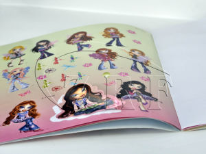 Professional Children Comic Stickers Book Printing Service pictures & photos