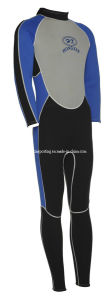 Men′s Neoprene Full Length Wetsuit with Polyester (HXL0010) pictures & photos