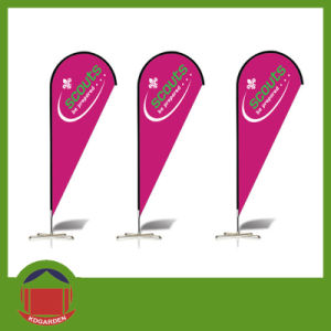 Teardrop Bow Promotional Cheap Made Flags pictures & photos