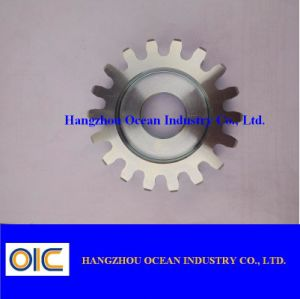 Zinc Plated Steel Spur Gear pictures & photos