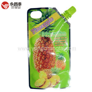 Corner Spout Pouch for Pineapple Juice