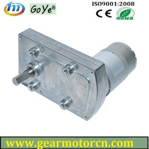 Gyf95-C 6V-18VDC 95mm Base High Torque Low Speed Flat Metal DC Gear Motor pictures & photos