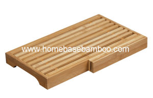 Bamboo Bread Cutting Board Chopping Cheese Board Hb2254 pictures & photos