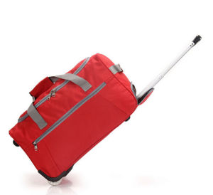 Promotion Polyester Duffle Trolley Bag / Wheeled Travel Bag / Trolley Bag pictures & photos