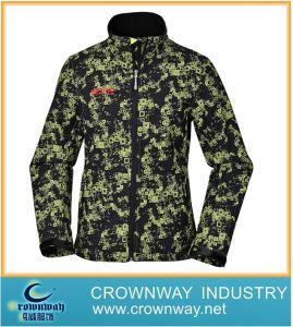 Fleece Windproof Outdoor Waterproof Softshell Jacket for Men (CW-LSOFTS-1) pictures & photos
