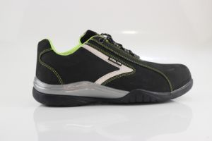 Suede Leather Safety Shoes (SN2013) pictures & photos