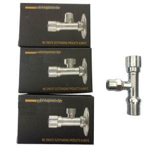 Brass Chrome Plated Angle Valve with Brass Cartridge (TP-MA01) pictures & photos