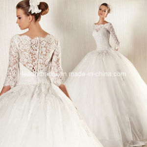 Lace Bridal Dresses Ball Gown Tulle Wedding Dress W15171 pictures & photos