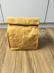Waterproof Waxed Canvas Lunch Bag for Office and School pictures & photos
