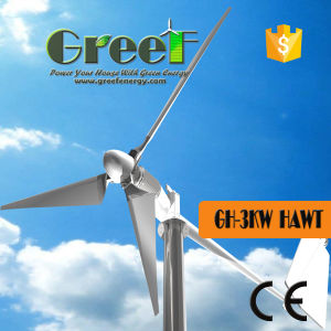 3kw Hawt Horiaontal Wind Turbine with Ce pictures & photos