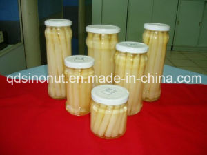 2015 New Crop White Asparagus Spears in Jar pictures & photos
