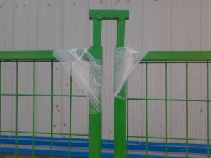 "6FT X 10FT Weld Mesh 2""X2"" Temporary Construction Fence Panels Electrostatic Powder Coated pictures & photos"